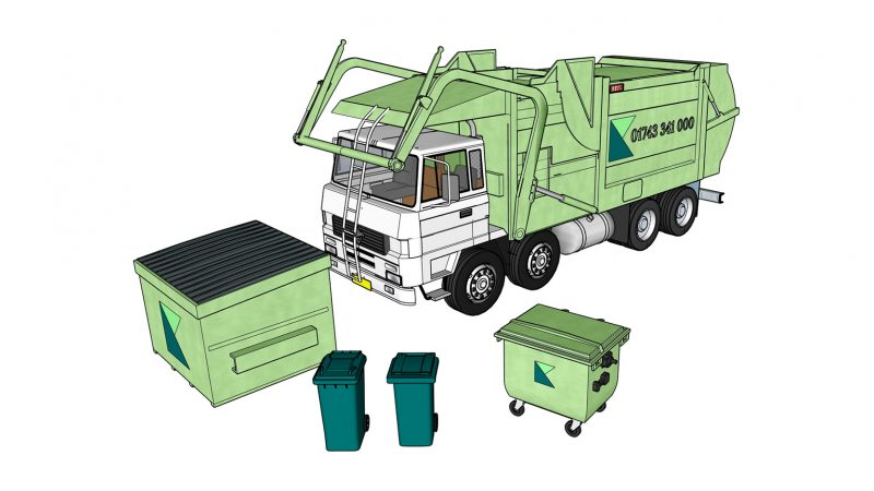 Scheduled Waste Isometric A