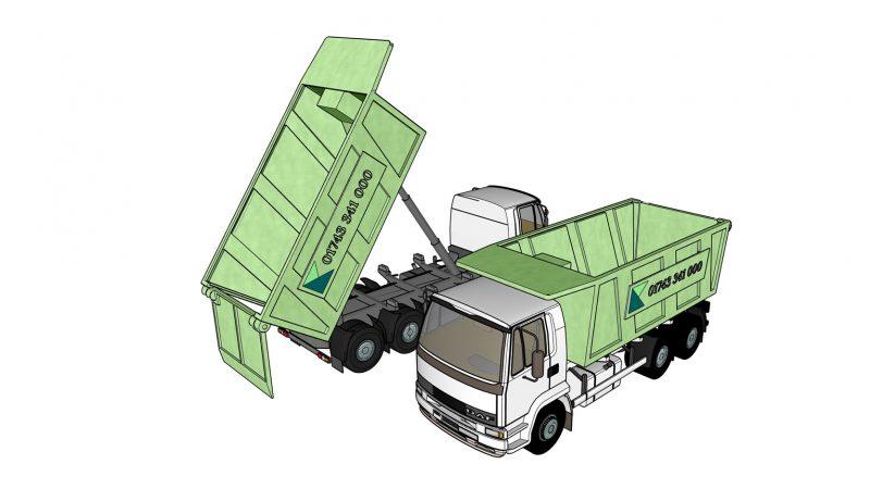 Tipper Lorry Isometric B